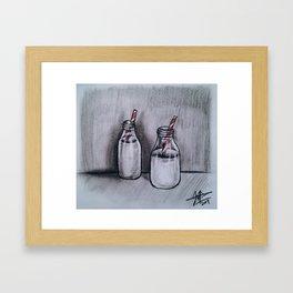 Milk for Two Framed Art Print