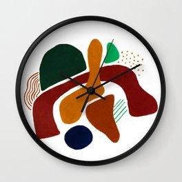 Lounging Wall Clock