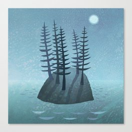Pine Island Canvas Print