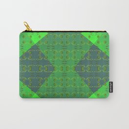 Light-green-pattern Carry-All Pouch