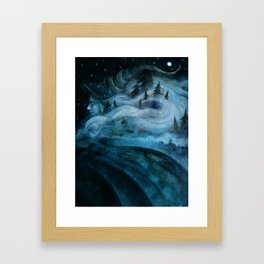 Witch of the Hills Framed Art Print