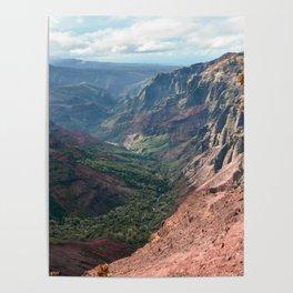 Canyon Poster