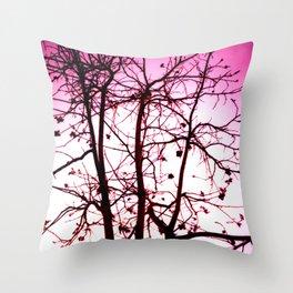 La vie in Rose Throw Pillow