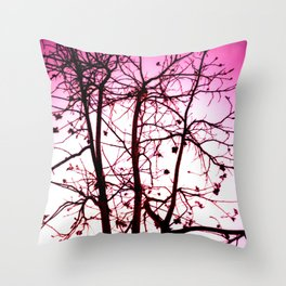 La vie in Rose Throw Pillow