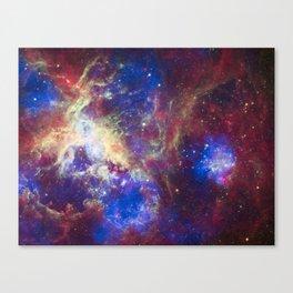 A New View of the Tarantula Nebula Canvas Print