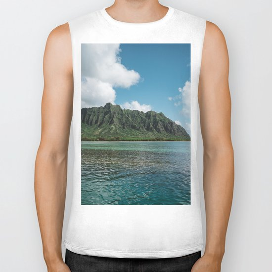 Hawaiian Mountain II Biker Tank