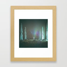 INDUCTION (everyday 01.04.16) Framed Art Print