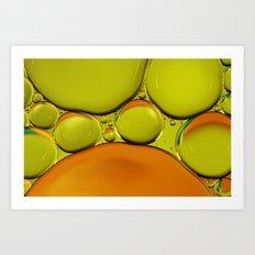 Oranges & Limes Art Print
