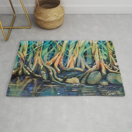 Kingfisher Forest Rug