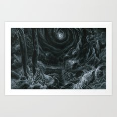 Lets tear it all down and rebuild it with meaning Art Print