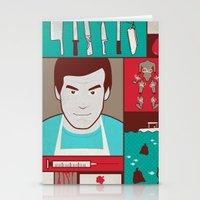 dexter Stationery Cards featuring Dexter by Josè Sala