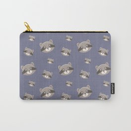Cute animal faces pattern Carry-All Pouch