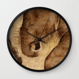Baby Elephant Seris: First Love Wall Clock