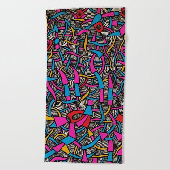 - parquet - Beach Towel