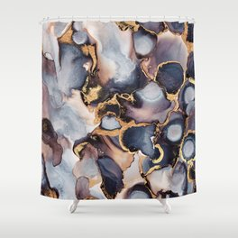 Dreamy Ink 1 Shower Curtain