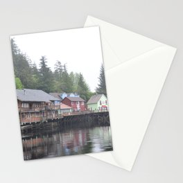 Creek Street, Ketchikan, AK Stationery Cards