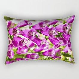 Foxglove Flowers Rectangular Pillow