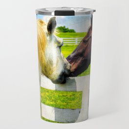 Barn Yard Kisses Travel Mug