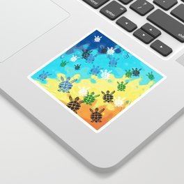 Back to the Ocean Sticker