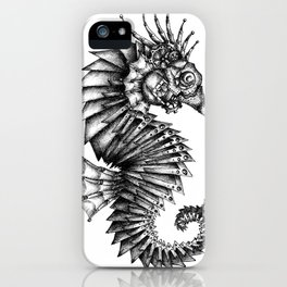 Steampunk Seahorse iPhone Case