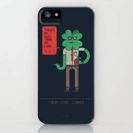 Four Eyed Clover iPhone Case
