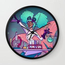mermad scientist Wall Clock