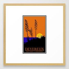 Devereux Redux Framed Art Print