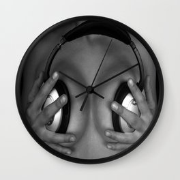 Love Making Music Wall Clock