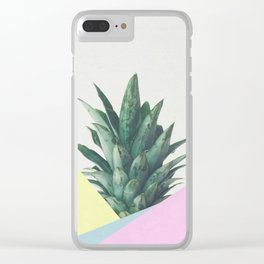 Pineapple Dip V Clear iPhone Case