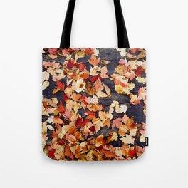 Fall Leafs (Color) Tote Bag