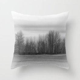 The Stand Black and White Throw Pillow