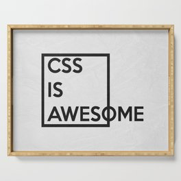 CSS is Awesome Serving Tray