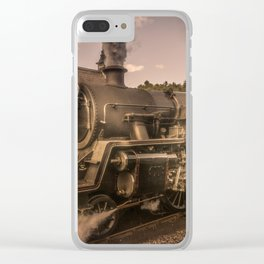 Whitby Express Clear iPhone Case