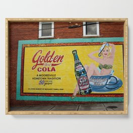 Soda Advertisement  Serving Tray