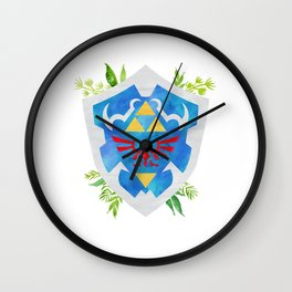 One Shield to Hyrule Them All Wall Clock