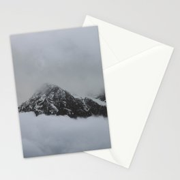 peak through the clouds Stationery Cards