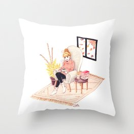 Cocooning Throw Pillow