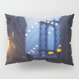 Manhattan Bridge at Night II Pillow Sham