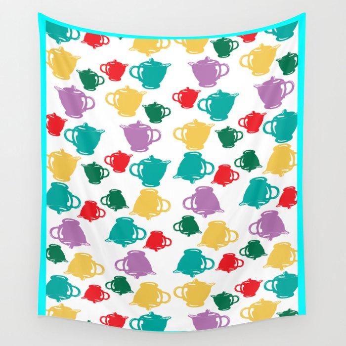 Favoriteware Teapots Wall Tapestry