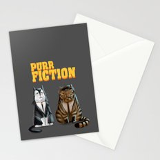 Purr Fiction Stationery Cards
