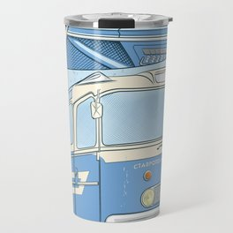 Ikarus 55 blue Travel Mug