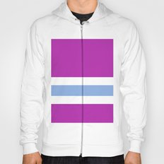 Purple, White, and blue Hoody