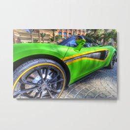 Dubai Super Car Metal Print
