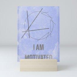 I Am Motivated Magic Sigil Mini Art Print