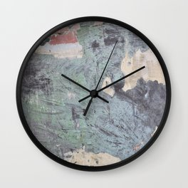 Changes Through Life Wall Clock