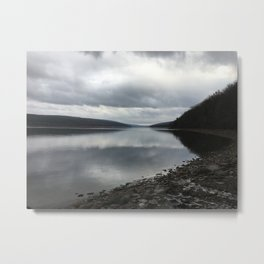 Hemlock lake Metal Print