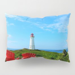Louisbourg Lighthouse Pillow Sham
