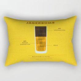 Jagerbomb - Cocktail by Juan Rectangular Pillow