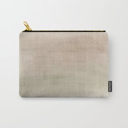 Ombre Grey Mist Watercolor Hand-Painted Effect Carry-All Pouch