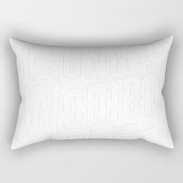 Guard-Dog-tshirt,-god-make-strongest-woman-Guard-Dog Rectangular Pillow
